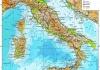Географические особенности Италии